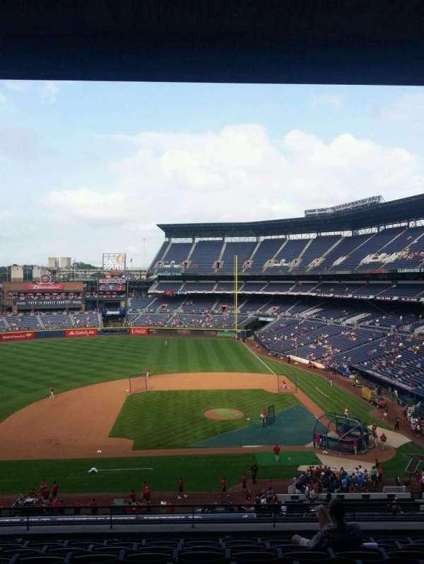 Turner Field, sección: 312R, fila: 9, asiento: 8