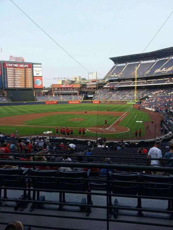 Turner Field, sección: 206R, fila: 2, asiento: 9