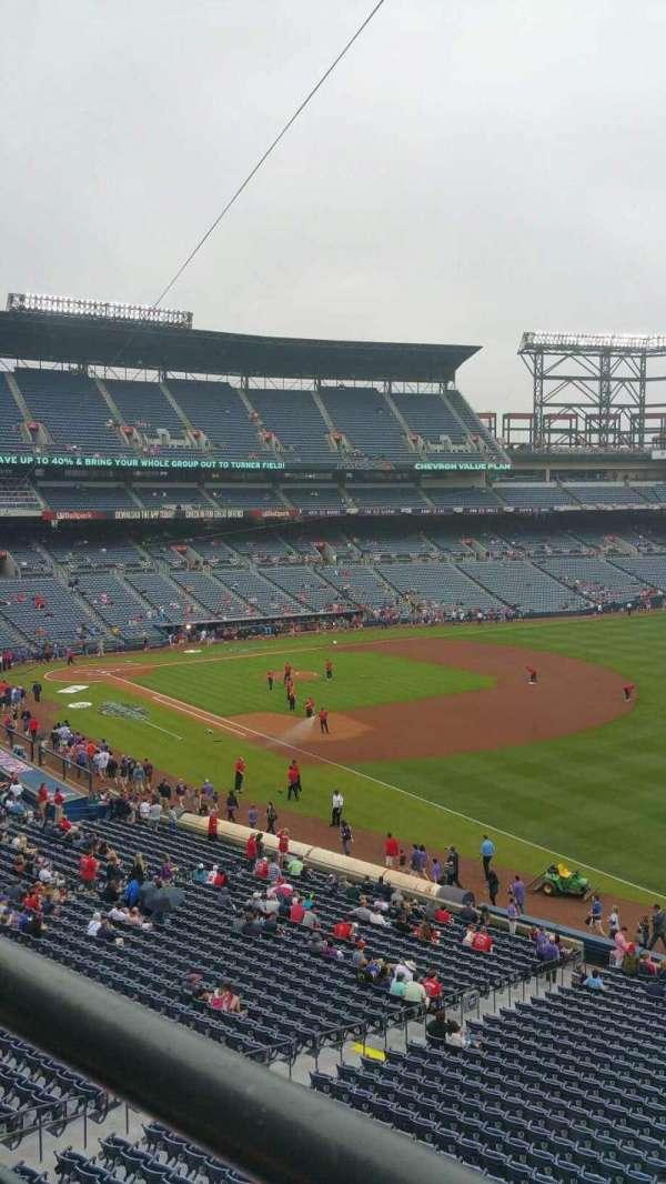 Turner Field, sección: 321R, fila: 1, asiento: 2