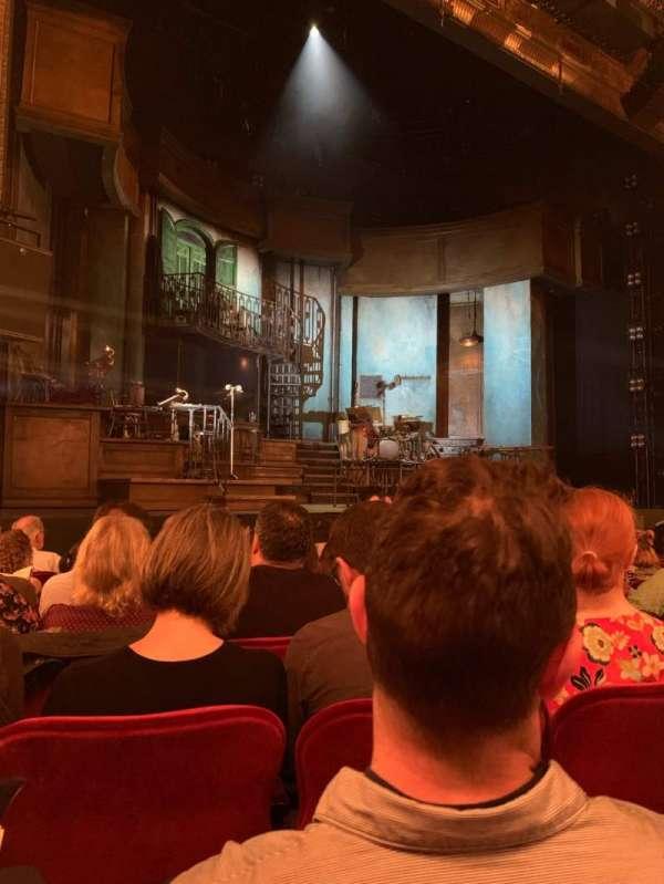 Walter Kerr Theatre, sección: ORCHL, fila: K, asiento: 9