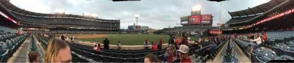 Angel Stadium, sección: F128, fila: g, asiento: 13