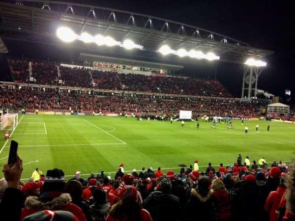 BMO Field, sección: 110, fila: 17, asiento: 27