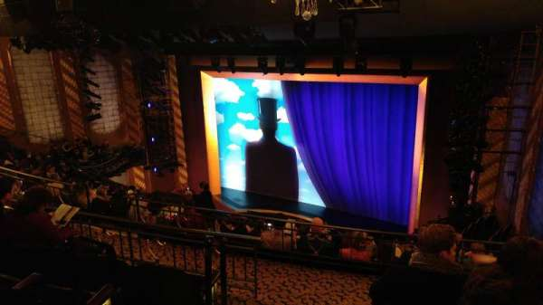 Lunt-Fontanne Theatre, sección: Rear Mezzanine R, fila: D, asiento: 2