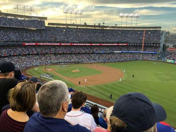 Dodger Stadium, sección: 40RS, fila: E, asiento: 11