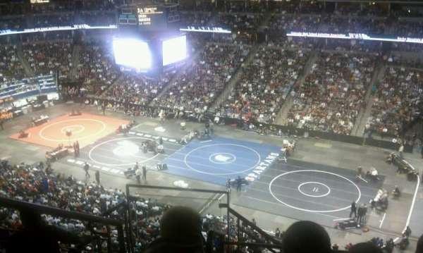 Pepsi Center, sección: 374, fila: 9, asiento: 16