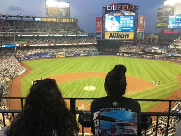Citi Field, sección: 413, fila: 2, asiento: 6