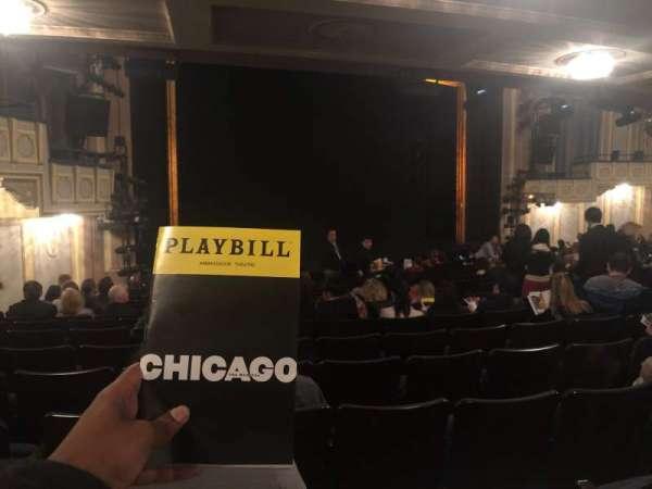Ambassador Theatre, sección: Orchestra L, fila: Standing Room, asiento: 17