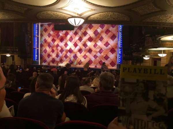 Brooks Atkinson Theatre, sección: Orchestra L, fila: Standing Room, asiento: 9