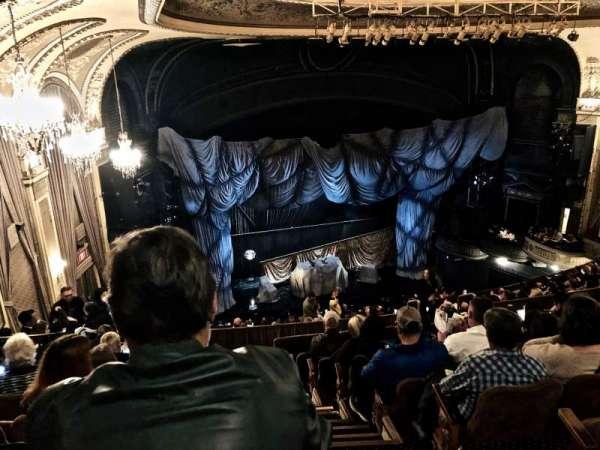 Majestic Theatre, sección: Rear Mezzanine L, fila: H, asiento: 1