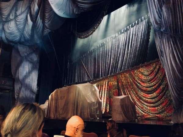 Majestic Theatre, sección: Orchestra R, fila: C, asiento: 12