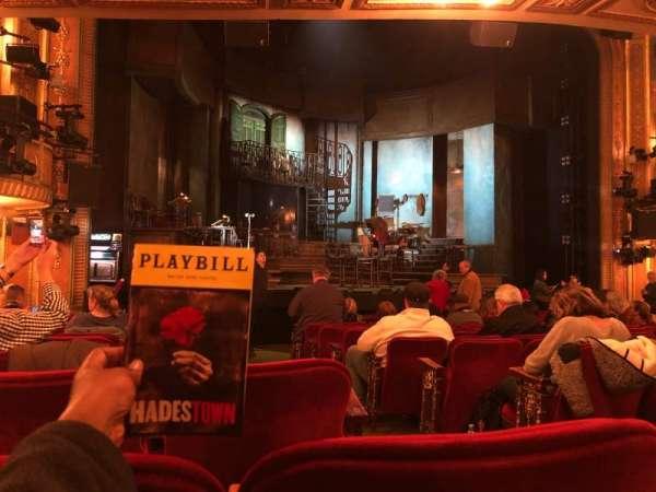 Walter Kerr Theatre, sección: Orchestra L, fila: P, asiento: 3