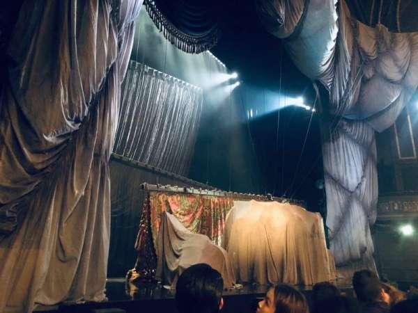 Majestic Theatre, sección: Orchestra L, fila: A, asiento: 15