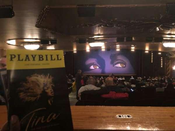 Lunt-Fontanne Theatre, sección: Orchestra, fila: Standing Room, asiento: 101