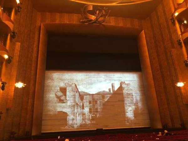 Metropolitan Opera House - Lincoln Center, sección: Orchestra, fila: T, asiento: 101