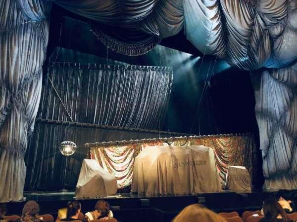 Majestic Theatre, sección: Orchestra L, fila: E, asiento: 5