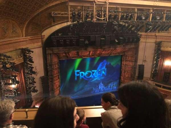 St. James Theatre, sección: Balcony L, fila: C, asiento: 15