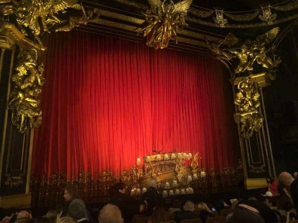 Majestic Theatre, sección: Orchestra L, fila: H, asiento: 3