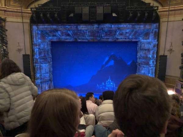 St. James Theatre, sección: Mezzanine C, fila: K, asiento: 106