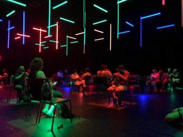 Daryl Roth Theatre, sección: Floor, fila: G, asiento: 109