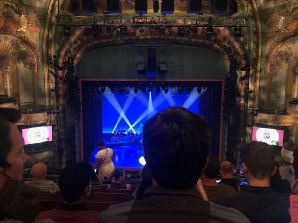 New Amsterdam Theatre, sección: Mezzanine C, fila: JJ, asiento: 109