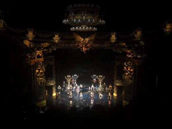 Majestic Theatre, sección: Front Mezzanine, fila: G, asiento: 108