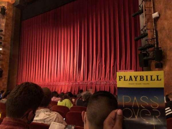 August Wilson Theatre, sección: Orchestra R, fila: H, asiento: 12