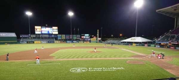 McCoy Stadium, sección: 10, fila: F, asiento: 13