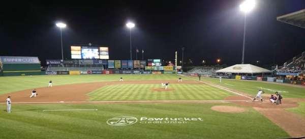 McCoy Stadium, sección: 10, fila: F, asiento: 8