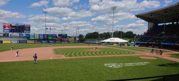 McCoy Stadium, sección: 11, fila: D, asiento: 16