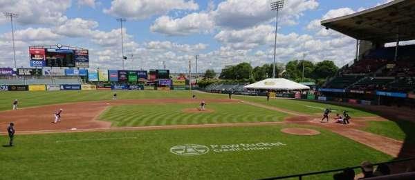 McCoy Stadium, sección: 11, fila: F, asiento: 1