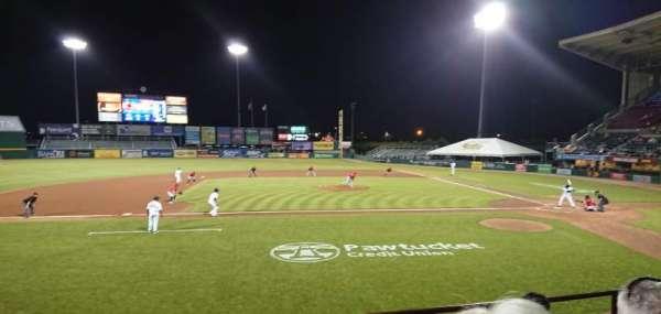 McCoy Stadium, sección: 10, fila: D, asiento: 16