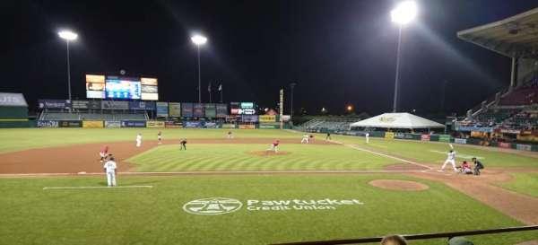 McCoy Stadium, sección: 10, fila: D, asiento: 11
