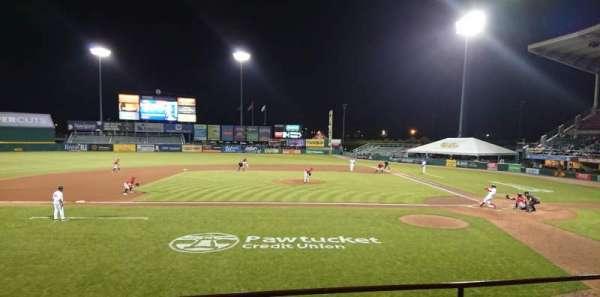 McCoy Stadium, sección: 10, fila: D, asiento: 6