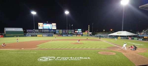 McCoy Stadium, sección: 10, fila: D, asiento: 1