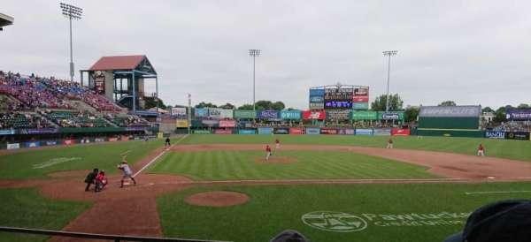 McCoy Stadium, sección: 4, fila: D, asiento: 11