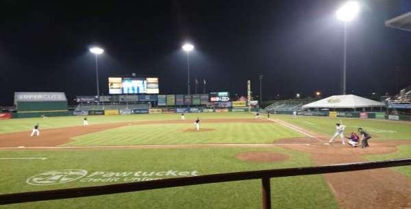McCoy Stadium, sección: 9, fila: B, asiento: 10