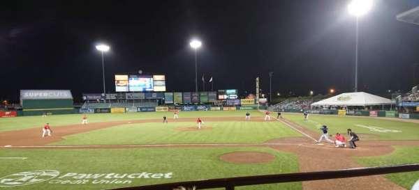 McCoy Stadium, sección: 9, fila: B, asiento: 6
