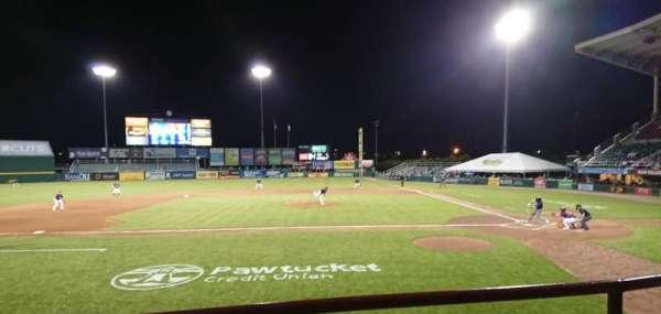 McCoy Stadium, sección: 10, fila: B, asiento: 1