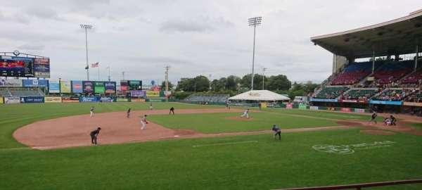 McCoy Stadium, sección: 12, fila: D, asiento: 14