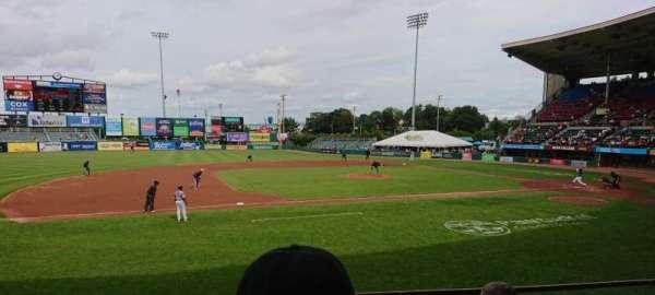McCoy Stadium, sección: 12, fila: D, asiento: 5