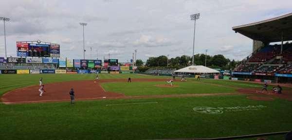 McCoy Stadium, sección: 12, fila: D, asiento: 1