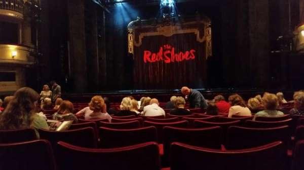 Birmingham Hippodrome, sección: Stalls, fila: M, asiento: 19