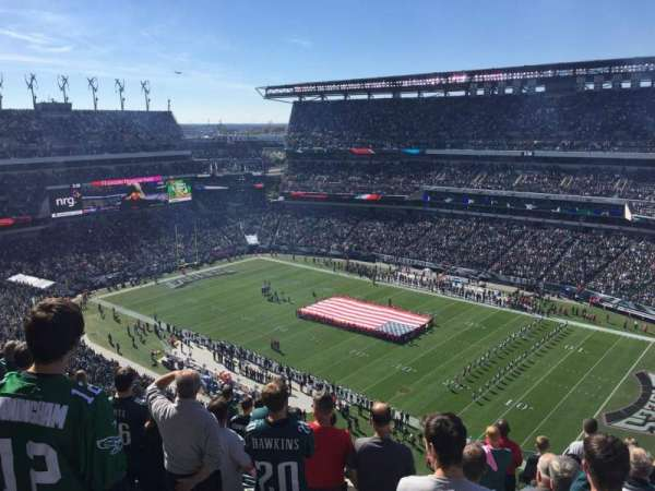 Lincoln Financial Field, sección: 229, fila: 14, asiento: 1