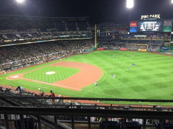 PNC Park, sección: 305, fila: H, asiento: 17