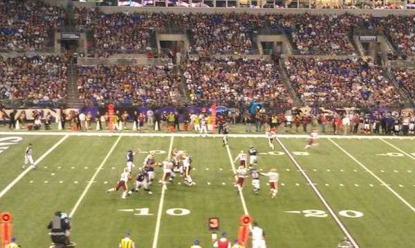 M&T Bank Stadium, sección: 102, fila: 30, asiento: 19