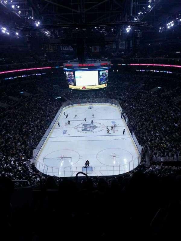 Staples Center, sección: 309, fila: 7, asiento: 14