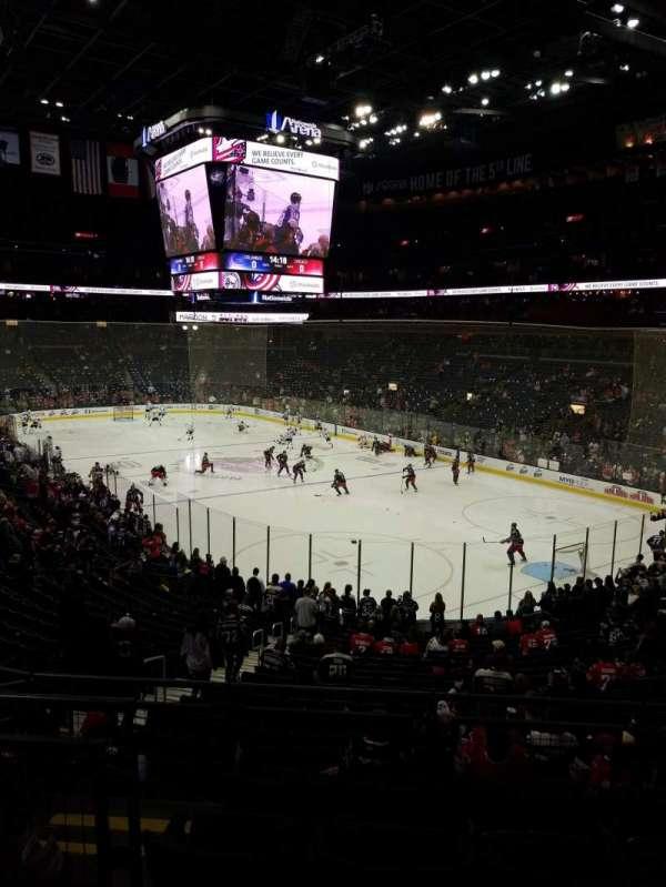 Nationwide Arena, sección: 122, fila: EE, asiento: 11
