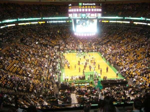 TD Garden, sección: BAL 324, fila: 6, asiento: 14