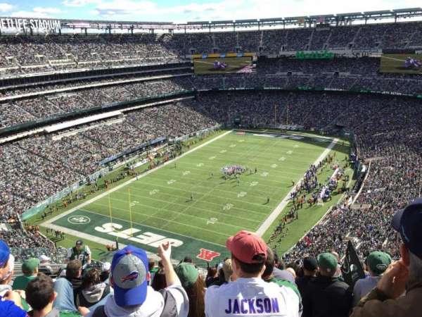 Metlife Stadium, sección: 417, fila: 15, asiento: 17