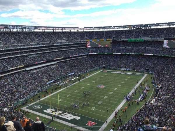 Metlife Stadium, sección: 417, fila: 17, asiento: 18